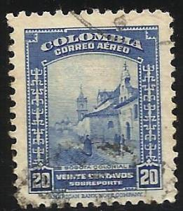 Colombia Air Mail 1952 Scott# C220 Used