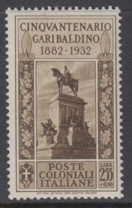 ITALY - Colonial General issues - Garibaldi  MH* Sassone n.9