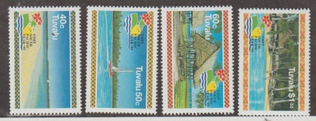 Tuvalu Scott #693-696 Stamps - Mint NH Set