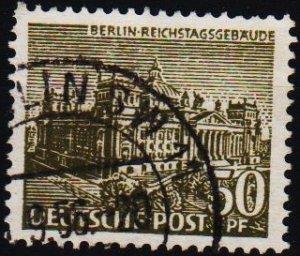 Germany(Berlin). 1949 50pf S.G.B46 Fine Used