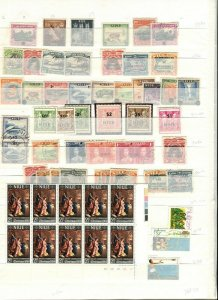 COOK ISLANDS; NIUE early 1930s-50s Accumulation fine Mint & used LOT