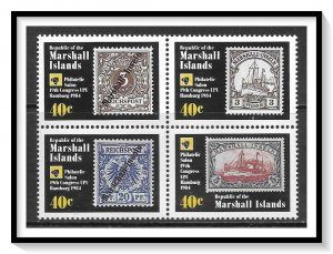 Marshall Islands #53a UPU Congress Block MNH