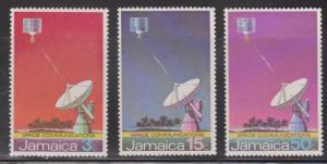 JAMAICA Scott # 340-2 Used - Earth Satellite Station