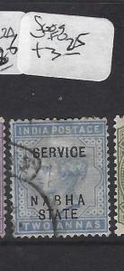 INDIA  NABHA   (P2508B)   QV SERVICE 2A  SG O9  VFU