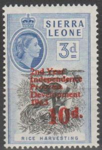 Sierra Leone #245  MNH F-VF  (SU162)