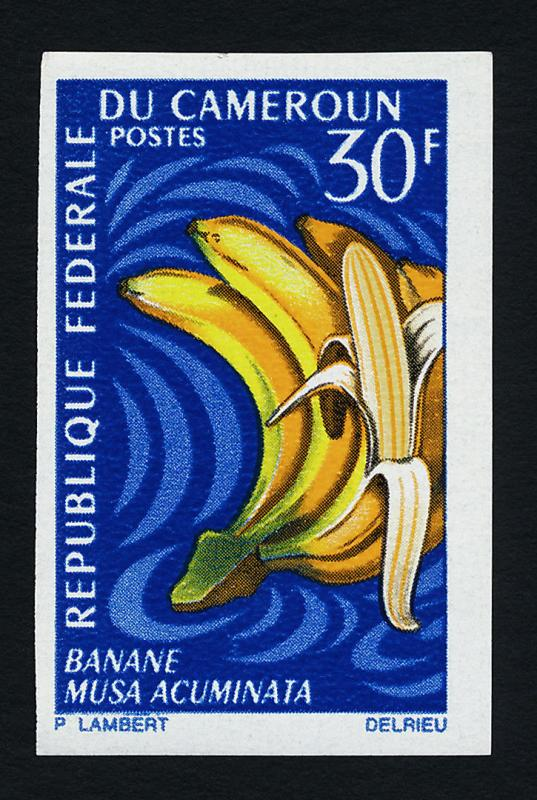 Cameroun 468 imperf MNH Fruit, Banana