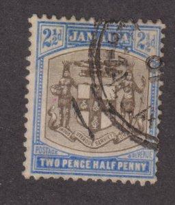 Jamaica 39  Arms of Jamaica 1905