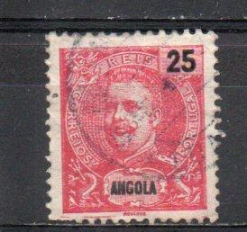 Angola 45 used