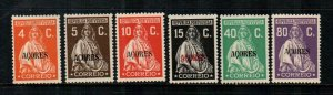 Azores #307//313  Mint  Scott $24.00