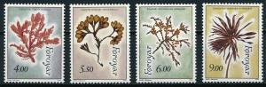 1996 Faroe Islands 292-295 Flowers 6,50 €