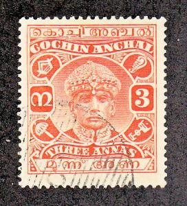 India Cochin Scott #48 Used