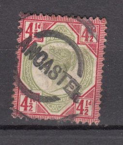 J27532 1887-92 great britain used #117 queen $45.00 scv
