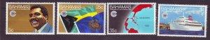 J24190 JLstamps 1983 bahamas set mh #528-31 designs