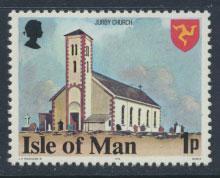 Isle of Man - SG 112a  SC# 114a  MUH  Perf 14½