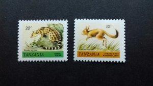 Tanzania 1980 Animals Used