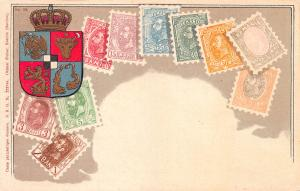 Romania, Stamp Postcard, Published by Ottmar Zieher, Circa 1905-10, Unused