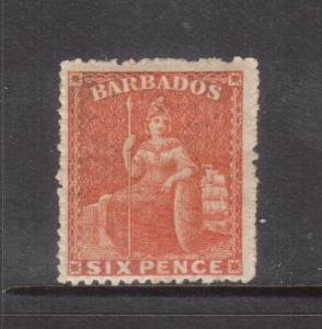Barbados #20 Very Fine Mint Original Gum Hinged - Trifle Oxidization