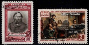 Russia Scott 1723-1724 Used CTO stamp set