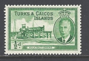 Turks & Caicos Islands Sc # 105 mint hinged (RS)