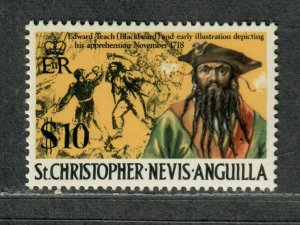 St. Kitts+Nevis Sc#222a M/NH/VF, High Value, Cv. $21