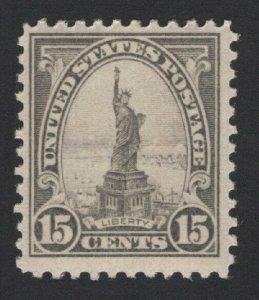 United States MINT Scott Number 566 MVLH  VF  -  BARNEYS