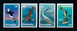 [99659] Grenada 1982 Marine Life Whales  MNH