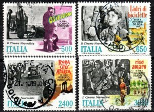 Italy #1751-4 F-F Used CV $6.15 (X5006)