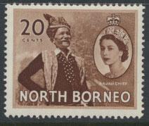 North Borneo  SG 380  SC# 269  MVLH   see scan