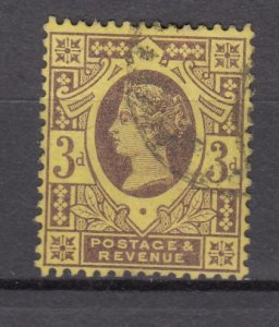 J27518 1887-92 great britain used #115 queen