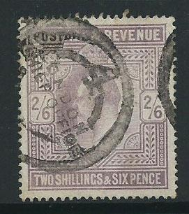 GB Edward VII  SG 260   good used  at 8% cat nice London ...