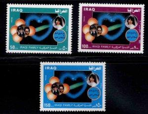 IRAQ Scott 1412-1414 stamp set