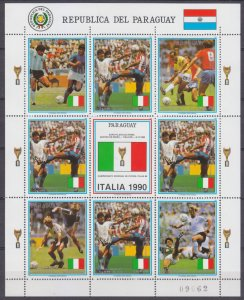 1989 Paraguay 4438KL 1990 FIFA World Cup in Italy 20,00 €