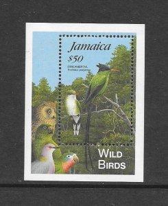 BIRDS - JAMAICA #831  MNH