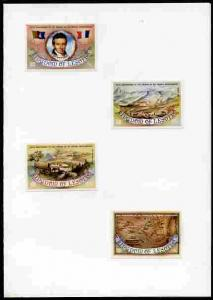 Lesotho 1983 French Missionaries Anniversary imperf set o...