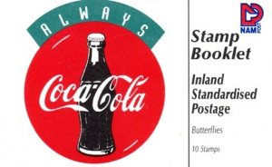 Namibia - 1996 Coca-Cola Independence Booklet MNH** SG SB4