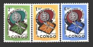 Kinshasa. 1962. 92-94. Medicine against malaria mosquito fauna. MNH.