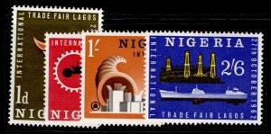 NIGERIA QEII SG122-125, complete set, NH MINT.
