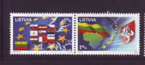 Lithuania Sc 769 2004 European Union stamp mint NH