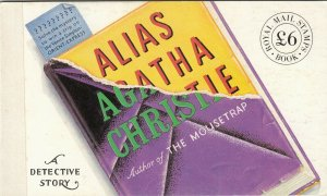 GB QEII 1991 Agatha Christie Prestige Booklet DX12 MNH JK1752