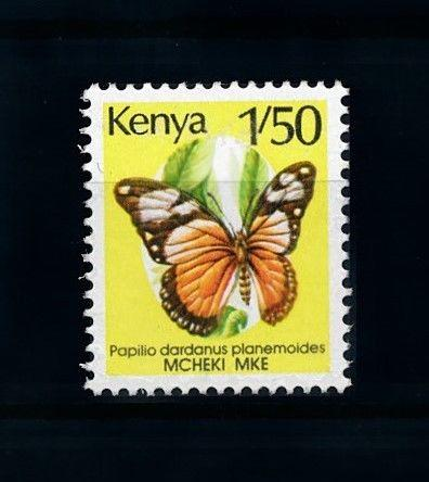 [70752] Kenya 1990 Insect Butterfly  MNH