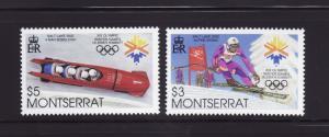Montserrat 1062a-1062b Set MNH Sports, Olympics