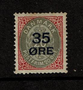 Denmark SC# 80 Mint Hinged  - S1739