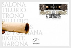 Stamps of Bosnia and Herzegovina Mostar 2020.The Europe 2020. Ancient Postal Rou
