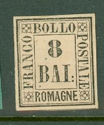 Italy Romagna 8 unused no gum CV $210