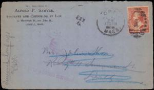 United States, Massachusetts, Banknotes