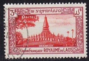 LAOS [1951] MiNr 0010 ( O/used )