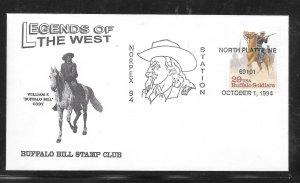 Just Fun Cover #2818 Norplex 94 Station North Platte Ne OCT/1/1994 (my4876)