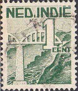 Netherlands Indies #263  Used
