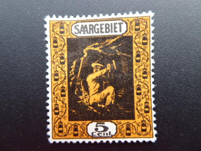Germany  Saargebiet 1922  Sc.#100