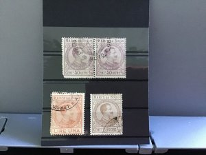 Italy Revenue used  stamps R29962